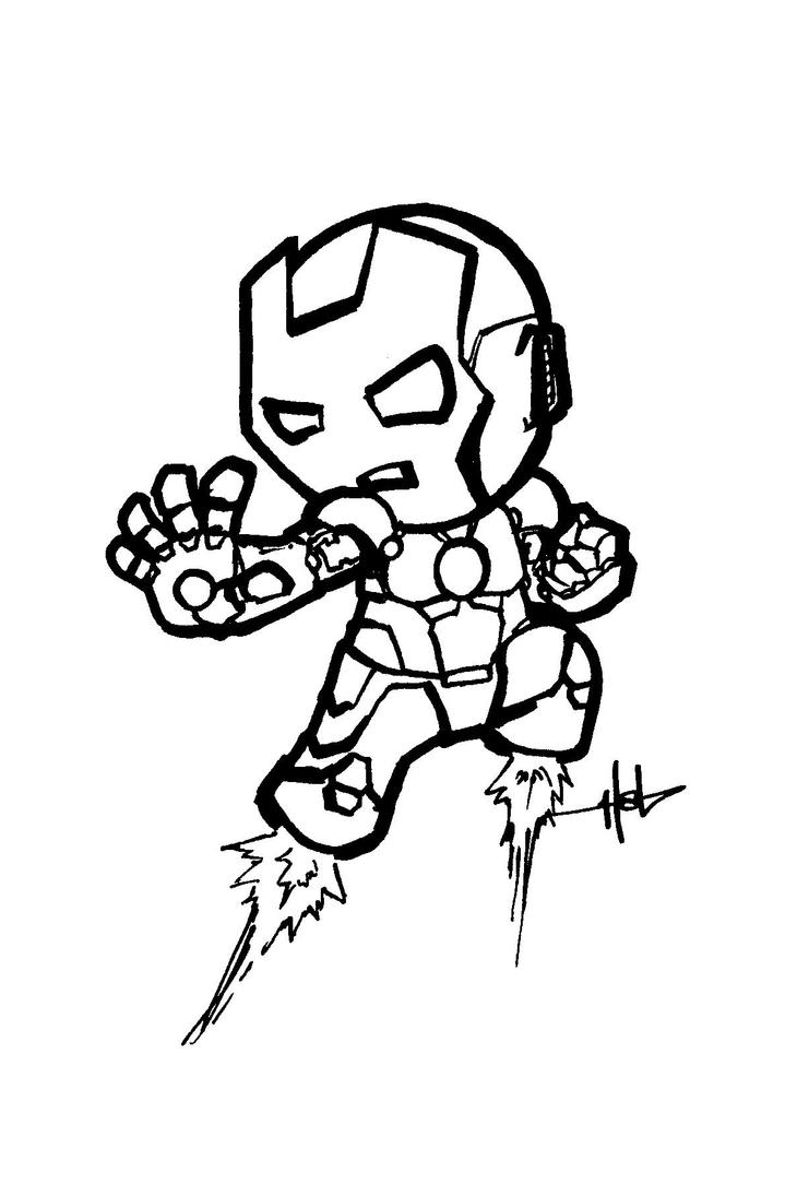 Iron Man Chibi 2 By Creeeeeees On DeviantArt