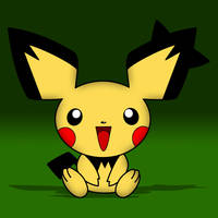 Spiky-Eared Pichu by acer-v