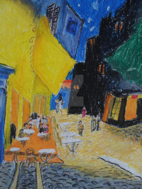 Van Gogh Cafe Terrace at Night Wallpaper Van Gogh Cafe Terrace at