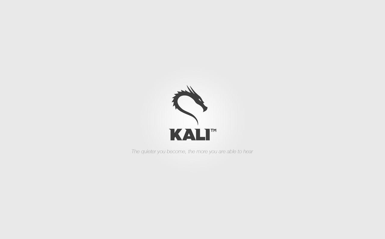 Kali Linux Minimalistic Wallpaper By Igeneral On Deviantart
