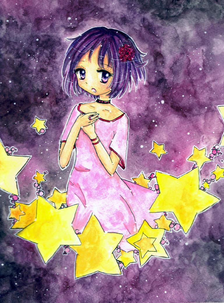 -: Space :- by pinky-ichigo
