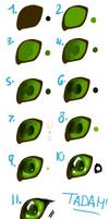 tutorial Deer Eye