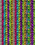 Zebra Lucky Star Paper