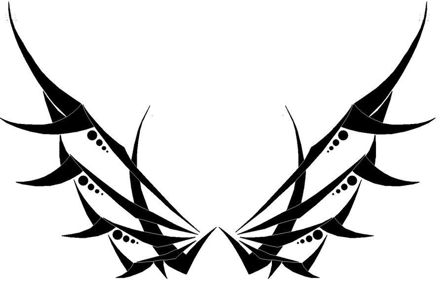 Tribal Wings by Aglinskas on DeviantArt