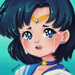 Sailor Mercury by Mucchii