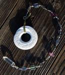 Spiral Focus with Flourite + Hematite and Quartz -