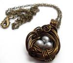 A Nest Adorned Necklace