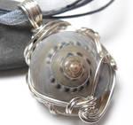 Moonsnail Necklace