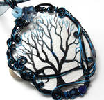 Twilight Forest Tree Necklace