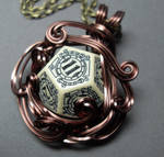 Die Steampunk Middle Earth Inspired Necklace