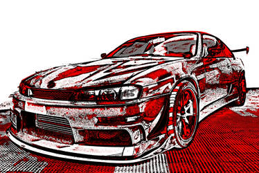 Red hot silvia by zeroimage