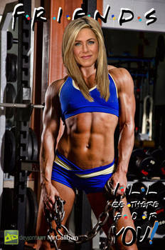 Jennifer Aniston Friends Fitness Promo