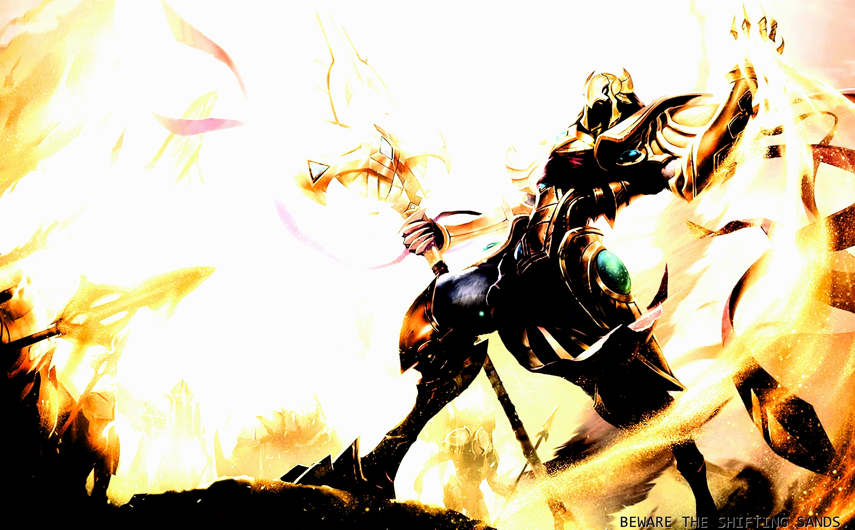 League Of Legends Azir Wallpaper By Dragontroopbeta On Deviantart