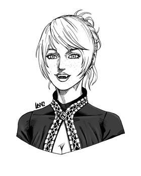 Portrait of Enola