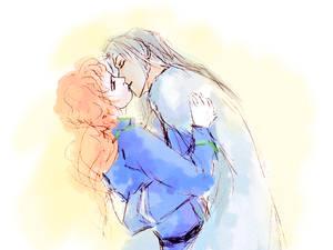 KunZoi kissing