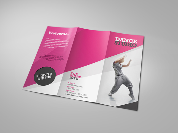 Dance Studio Brochure By Beyond On Deviantart