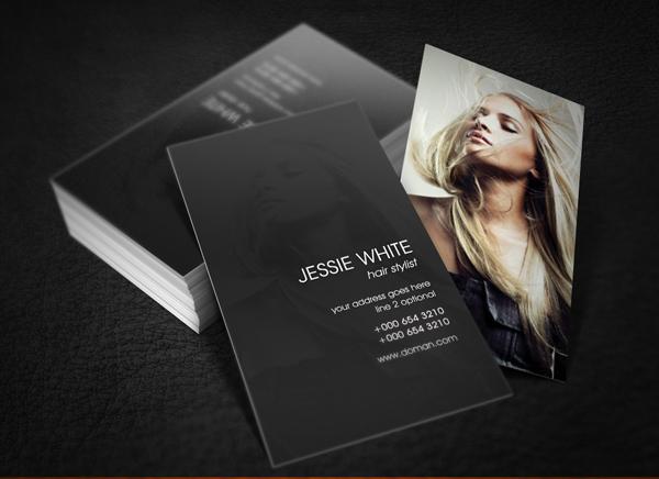Hair Stylist Business Card by 24beyond on DeviantArt