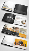 Professional Modern A5 Catalogue Brochure