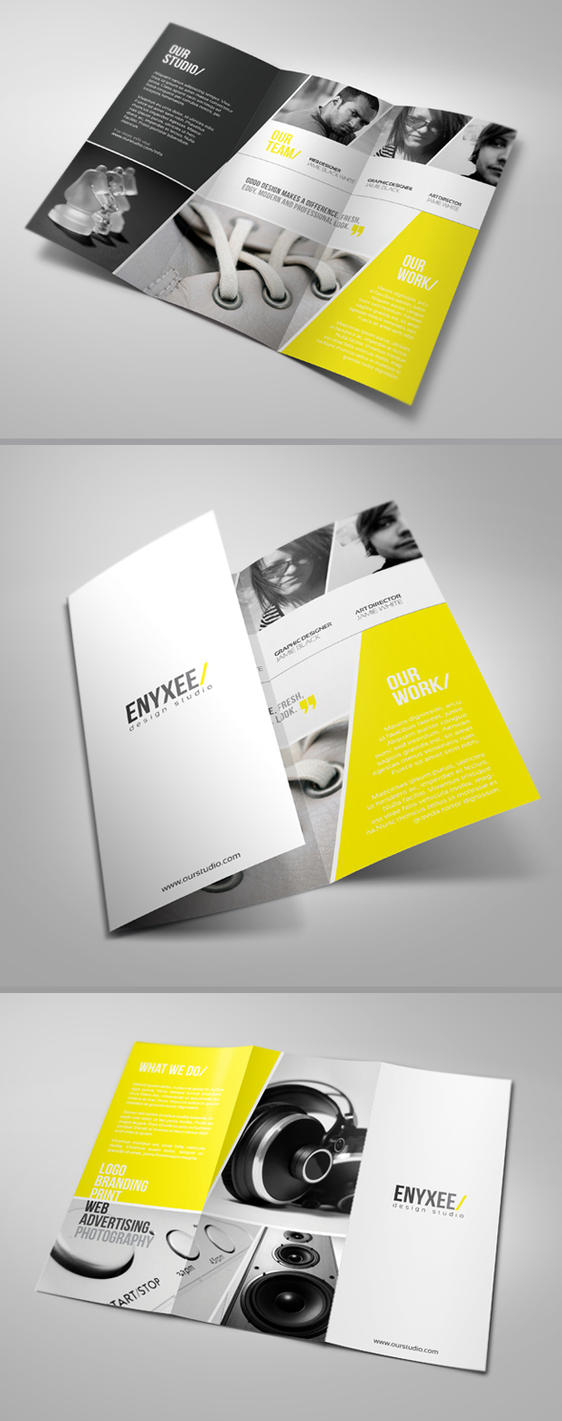 Unique Tri Fold Brochure by 24beyond