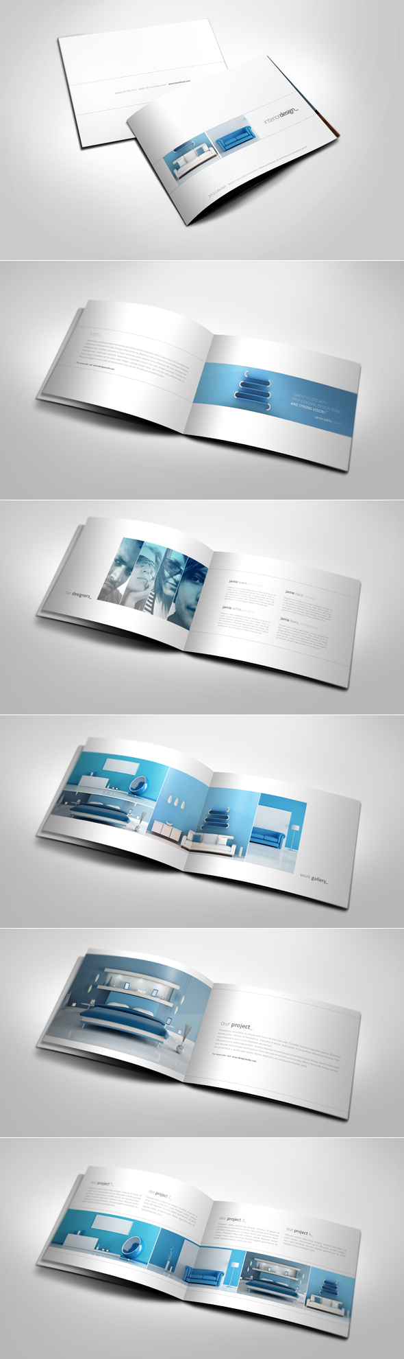 Simple and Clean A5 Catalogue by 24beyond