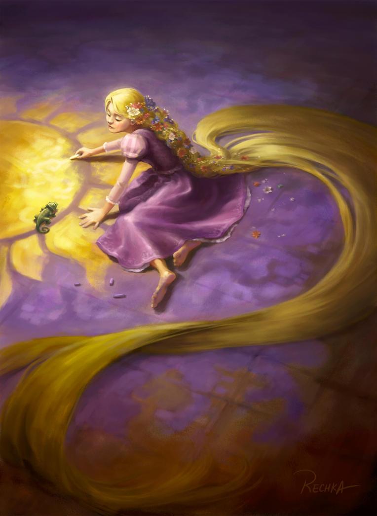 Rapunzel by Rechka
