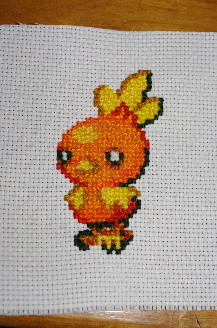 Torchic by kunoichiXvampire