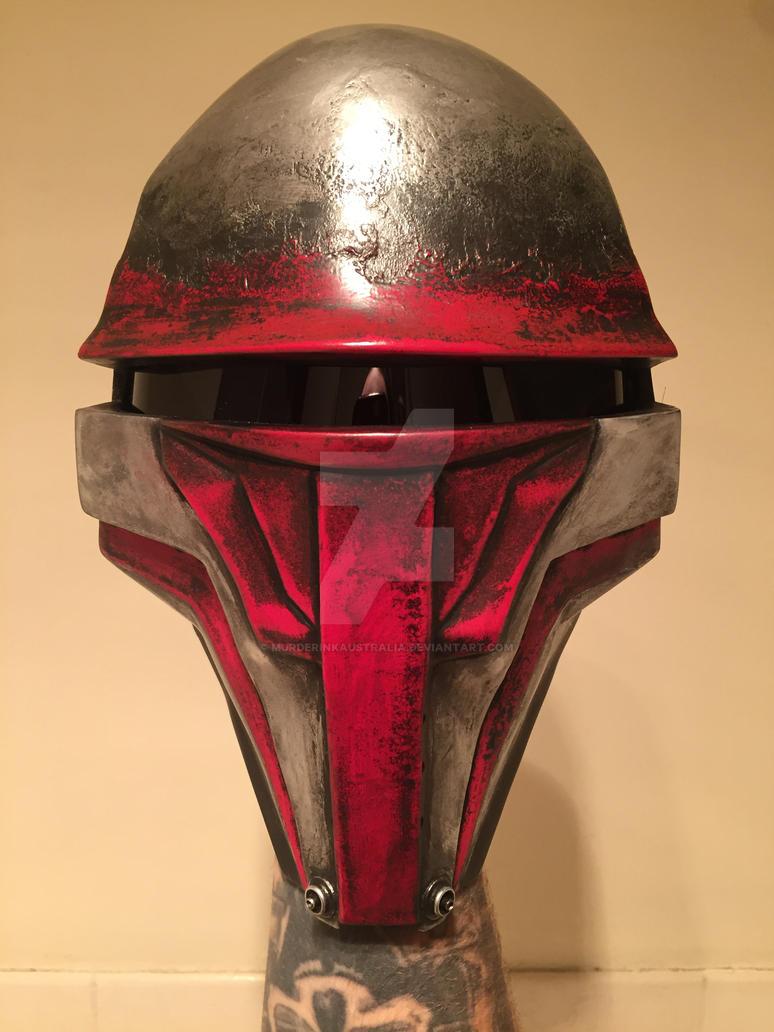 Darth Revan Mask by murderinkaustralia