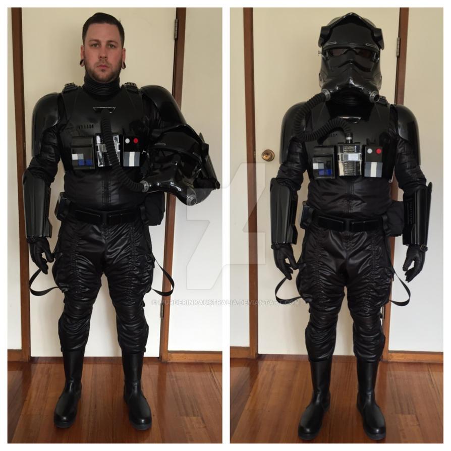 First Order Tie Pilot Costume by murderinkaustralia