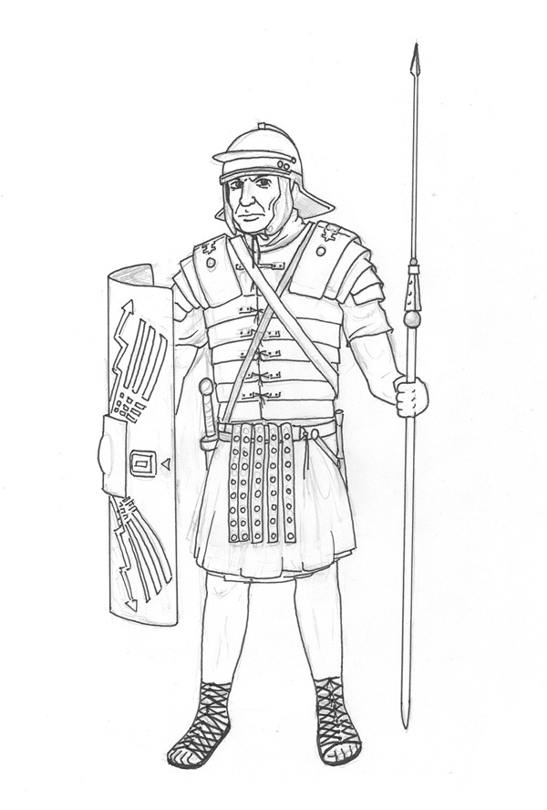Roman Legionnaire By Todesschnitzel On DeviantArt
