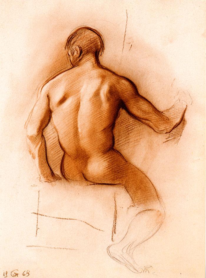 Male back by InTheNameOfArt