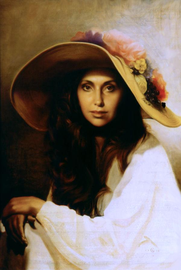Il Cappello di Paglia by InTheNameOfArt