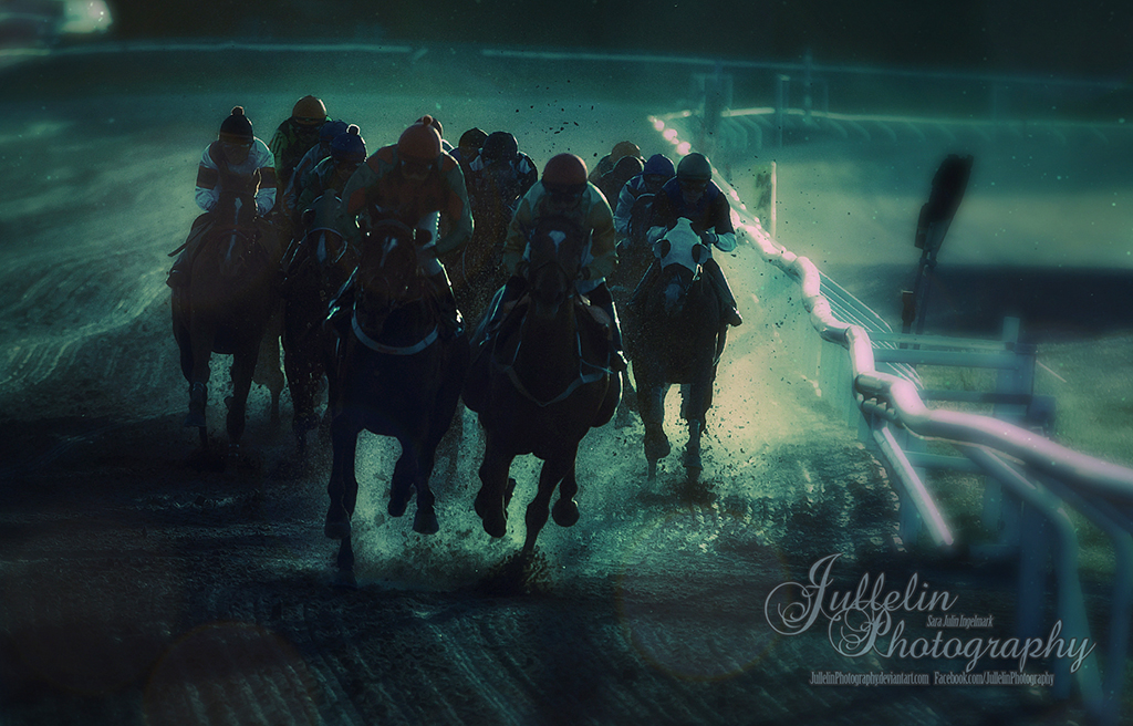 Horse Racing 794 by JullelinPhotography