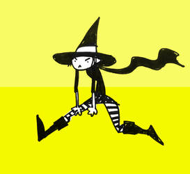 Witches: Yellow by Psymahout
