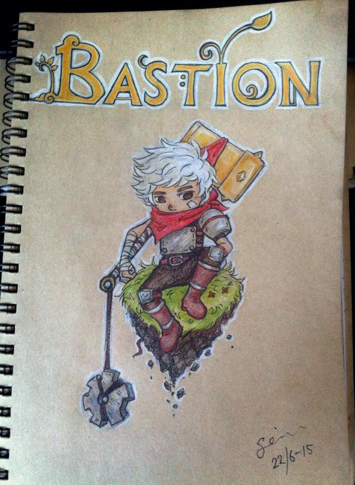 Bastion - Kid by TheCocaColaXD