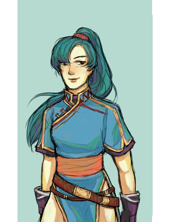 Lyn - Rekka no Ken by TheCocaColaXD