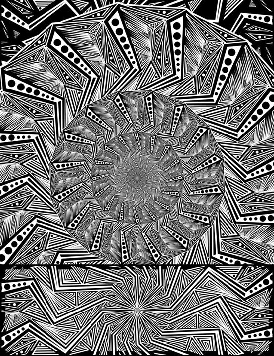 Combo #B, Experimentalism Series by BrockSpringstead