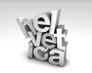 Helvetica by wobbl3r