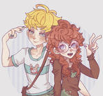 Fem Dougie and Butters