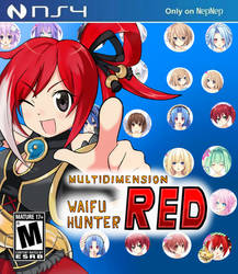 Multidimension Waifu Hunter RED by MasterZero
