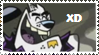 Bad Dog stamp XD by MAUWORLD274