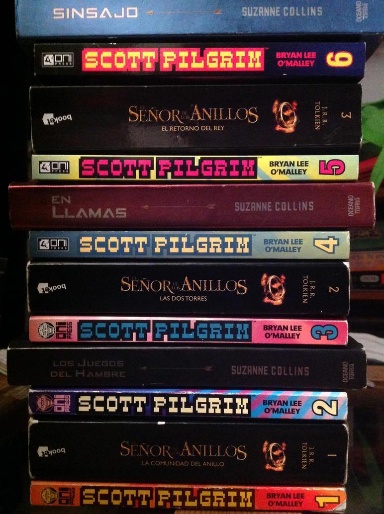 Scott Pilgrim's Fellowship vs Hunger Games by MAUWORLD274