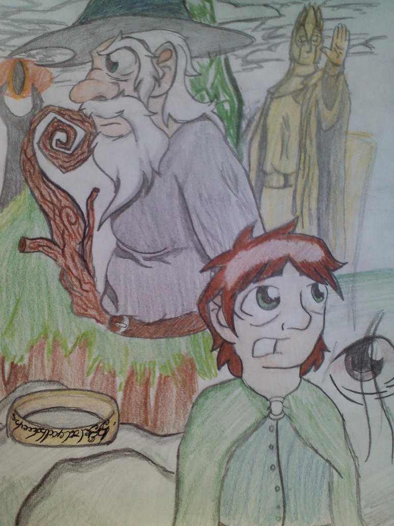 El Senor de los Anillos by MAUWORLD274