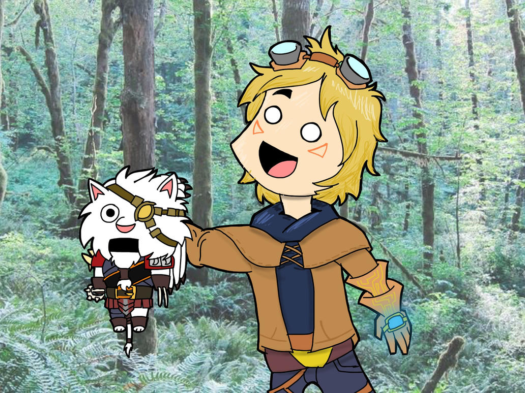 The Ezreal and Mini Rengar Show by MAUWORLD274