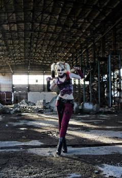 Harley Quinn Archam City cosplay