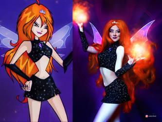Dark Bloom cosplay by SvetaFrost