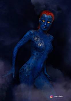 Mystique cosplay