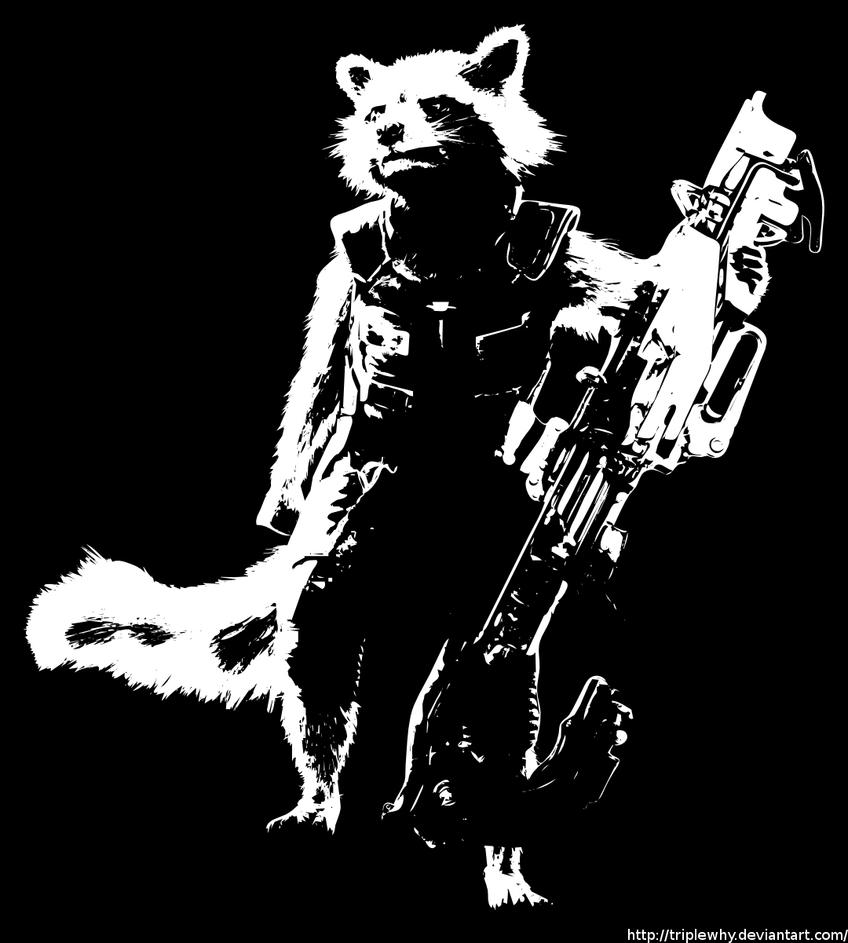 Star Lord And Rocket Raccoon By Timothygreenii On Deviantart: WS14 / Guardians Of The Galaxy: Rocket Raccoon By