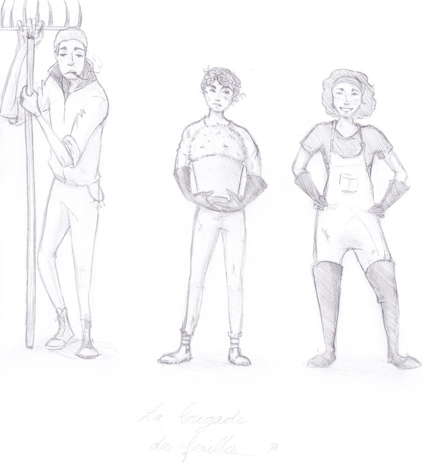 The Leaves Squad by SleepyCity