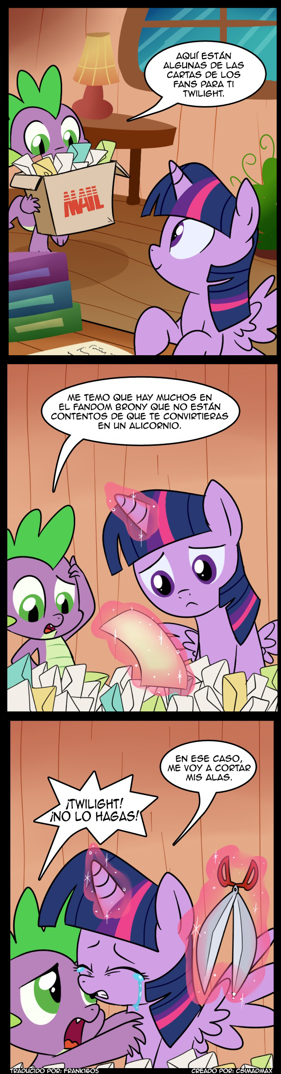 MLP: Reaccion Negativa by frank1605