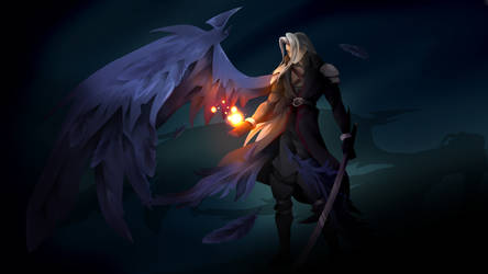 Sephiroth (Kingdom Hearts Style) by CornyChicken